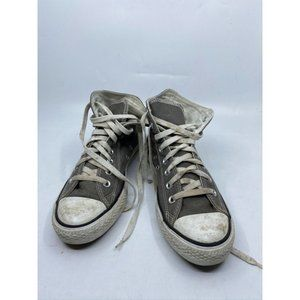 CONVERSE Sneakers White Gray Mens Size 7/ Womens 9